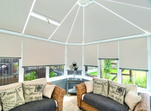 Thermal Roller Roof & Side Blinds with Slate Trim