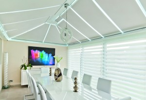 Roller Roof Blinds with InSpace Side Window Blinds