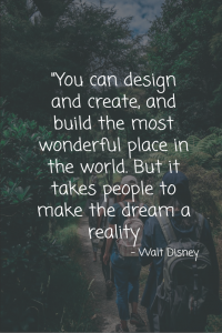 Home quote design and create - Walt Disney