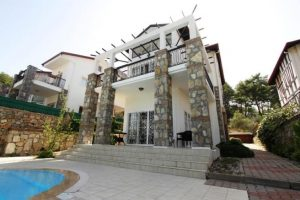 Uzumlu, Fethiye, Mugla - 3 Bedrooms - 3 Bathrooms - Front House View