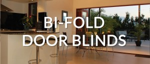 bifold conservatory blinds