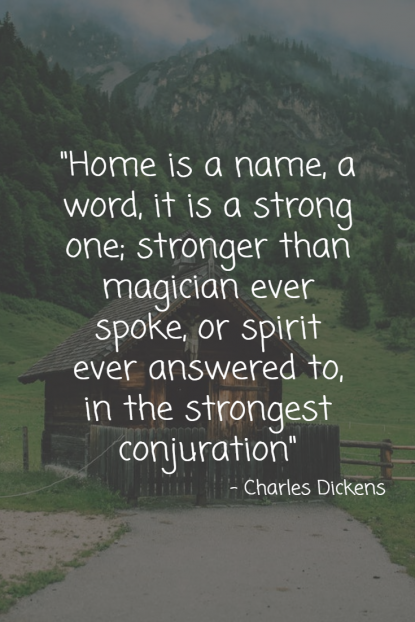 Home Quote name word strong - Charles Dickens