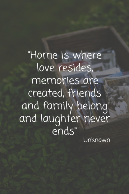 101 Home Quotes Thatll Make You Miss Home Conservatory Blinds
