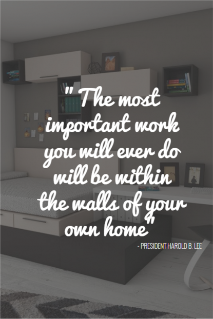 Home Quote Important work - President Harold B. Lee