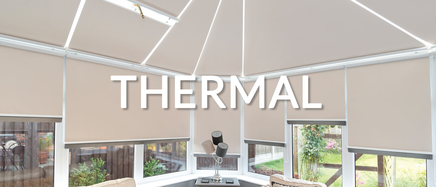 Thermal Blinds Bespoke Designs Available Conservatory