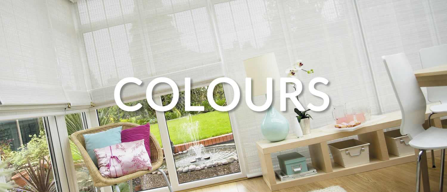 Colour Samples | Conservatory Blinds 4 Less